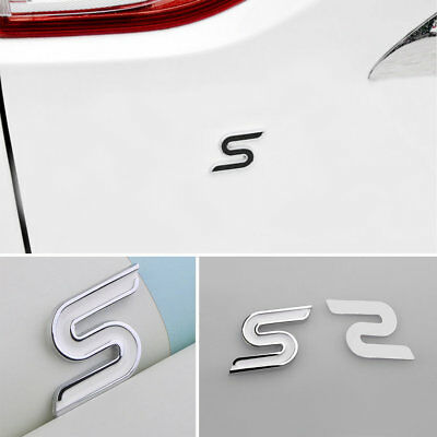 3D Modify ST Logo Car Sticker For Ford Auto Decoration Accessories Car StylingCS
