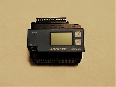*NEW* Janitza UMG 604-E 3-Phase Power Analyser 5216202