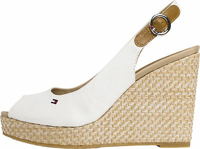 1add9fff1d880b TOMMY HILFIGER ICONIC Elena Corporate Ribbon Womens White Navy Red ...