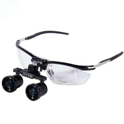 Dental Medical  Aluminium Loupes with Changeable Magnification 2.5X to 3.5X