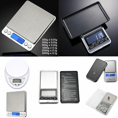 Pocket Digital Scale 0.01g 0.1g Precision Jewellery Balance gram Scales Weight