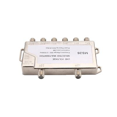 Satellite Standalone MultiSwitch LNB Voltage Switch Cascade 2 in 6 MultiswiN S@