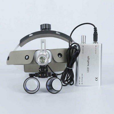 Dental Loupes 3.5X 420 mm Surgical Magnifying Glasses Medical Equipment