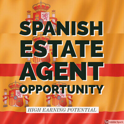 Spanish estate agency business opportunity