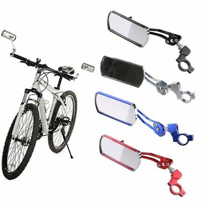 Cycling Bike Bicycle Rear Back View Mirror Handlebar Flexible Safe Rearview