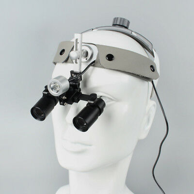 4X/5X/6X Medical Headband Binocular Loupes Kepler Dental Surgical Loupes & Light