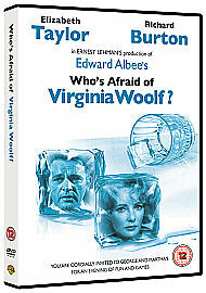 Who's Afraid Of Virginia Woolf? Dvd Richard Burton Brand New & Factory Sealed