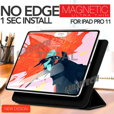 "NEW For iPad Pro 11"" 12.9"" 2018 Release Frameless Shockproof Case Cover Magnetic"