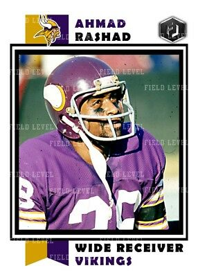 ACEO BOB LEE MINNESOTA VIKINGS CUSTOM HAND MADE ART CARD