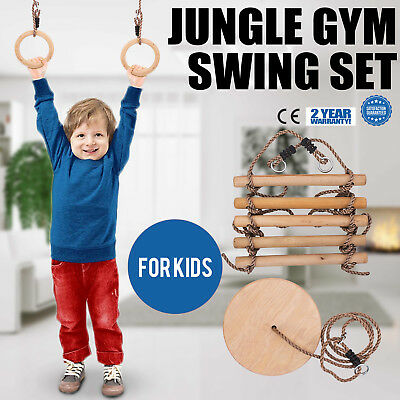 Jungle Gym Swing Kids Play Set Gorilla Gym Playset For Boys Girls