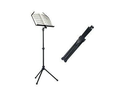 Metal Adjustable Sheet Music Stand Holder Folding Foldable