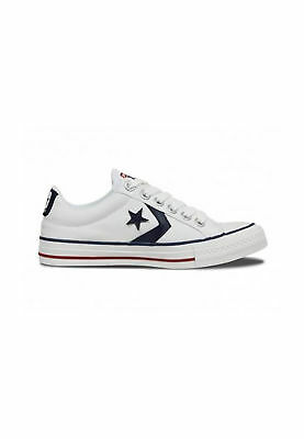CONVERSE STAR PLAYER Ox White Navy Womens - Mens Trainers - 144151C ... 37c3eeeee