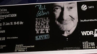 Phil Collins Konzert Köln 21.06.2019 - 2 Tickets