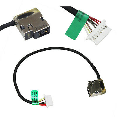 DC POWER JACK PORT HARNESS Cable For HP 15-AB Series CBL00666-0170 CHARGING SZ