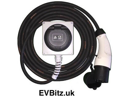EXT-FC-16 T2MP-T2FS - Type 2 to Type 2 EV Charging Cable Extension 5m/16A 2kg