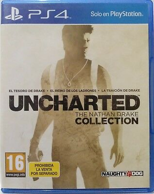 Uncharted. The Nathan Drake Collection. Ps4. Fisico. Pal Es