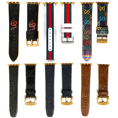 New Designer Apple watch band strap for series 1 2 3 4  38mm 40mm 42mm 44mm