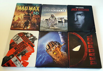 Mission: Impossible - 5 Movie Collection  Steelbook   (Blu-Ray Disc)