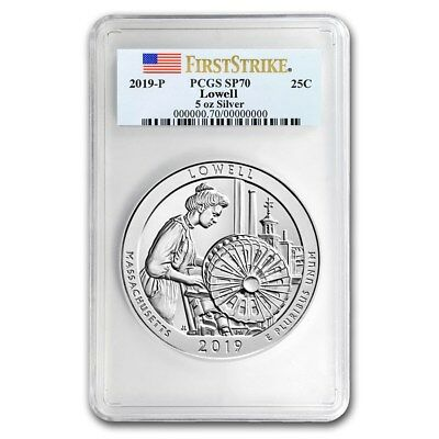 2019-P Silver ATB Lowell National Historic Park SP-70 PCGS Presale