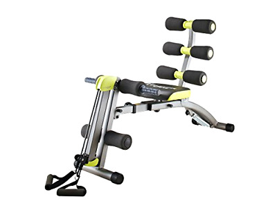 Ultimate 12 In 1 Fitness Work Out Bench -Foldable-Adjustable-Dual Resistance