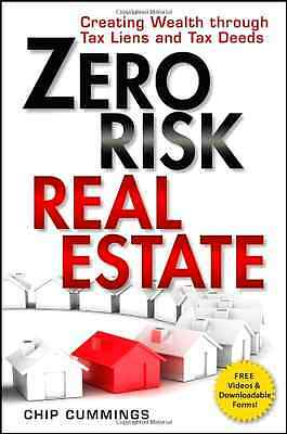 Zero Risk Real Estate Buying Investing Wealth Through Tax Liens Deeds Realestate
