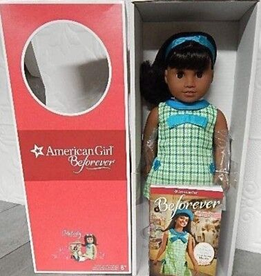 American Girl Doll Melody+  Extra Book And Hairpiece.nib
