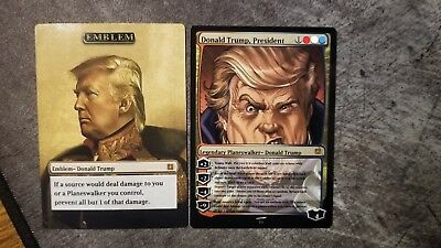 Donald Trump Collectible Trading Card MTG! Magic the Gathering
