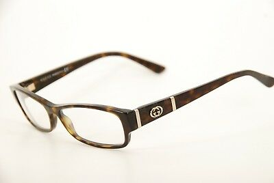 342398ea2d2 New Authentic Gucci GG 3201 086 Tortoise 53mm Italy Frames Eyeglasses RX