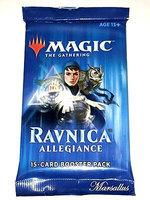 Magic the Gathering Factory Sealed Booster Pack - Ravnica Allegiance X 1