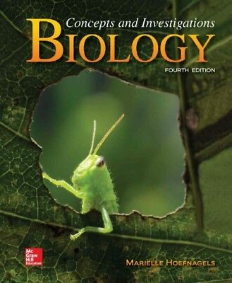 [EB00K] Biology: Concepts and Investigations by Marielle Hoefnagels 4ed