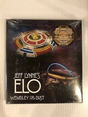JEFF LYNN'S ELO Wembly or Bust Live Recording 2017 2CD/DVD 88985492222 Album