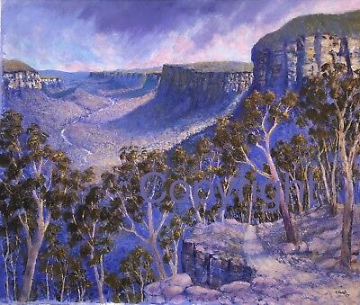Bill Offord Limited Edition Print -The Track To The Valley- Insp. Blue Mountains