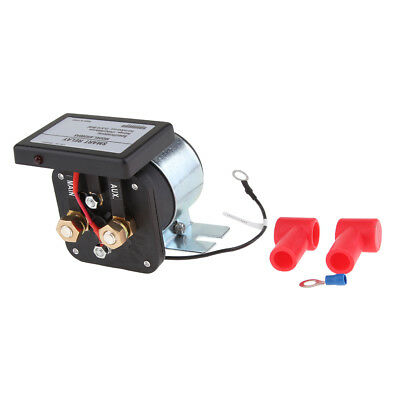 12v Dual Voltage Sensing Split Charge Relay for 4x4, Motorhomes Boats Cars
