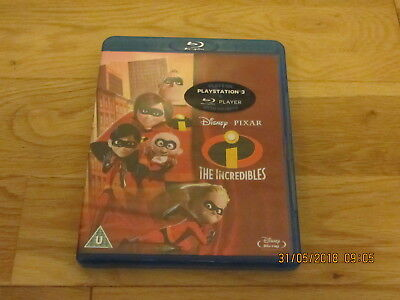 Disney Pixar The Incredibles Blu Ray