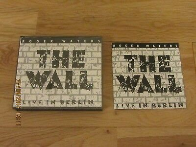 Roger Waters The Wall Live In Berlin Fatbox Case With Booklet Cd X 2 Double