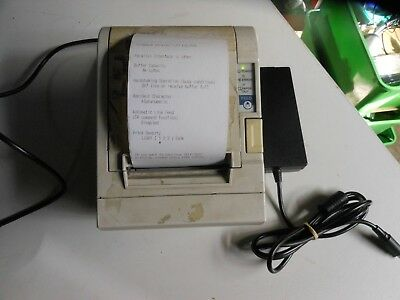 Epson Thermal Receipt POS Printer Model:M129C TM-T88IIP Parallel Interface w/ AC