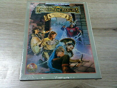 AD&D 2nd Edition Forgotten Realms Marco Volo Arrival 1994 TSR 9455 New Sealed