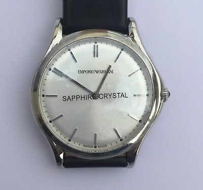 e3f13d570d58 EMPORIO ARMANI SWISS Made Quartz Watch ARS2002 - RRP  695 - BRAND ...