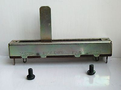 250K Linear (A) Slide Pot Potentiometer - With Mounting Screws AU stock!.