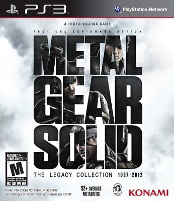 Metal Gear Solid: The Legacy Collection w/ Artbook PS3 LIMITED From Japan New