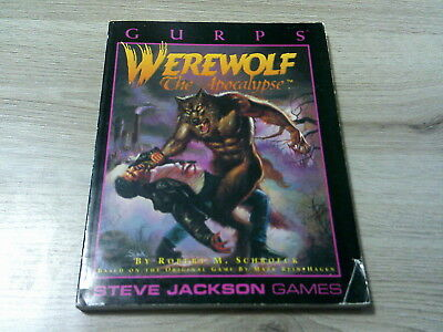 GURPS 3rd Edition Werewolf The Apocalypse 1993 Softcover Steve Jackson Games