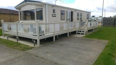 Luxury Caravan ,for hire at  Chapel St Leonards Skegness,