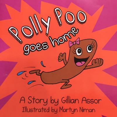 POLLY POO GOES HOME  -Toilet /Potty Training Book
