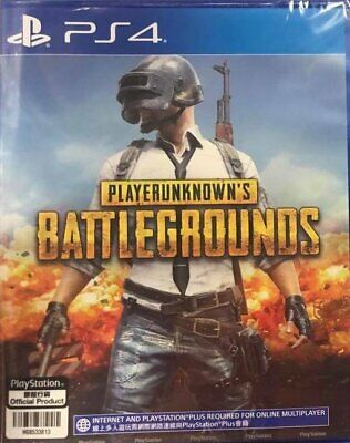 PS4 PLAYERUNKNOWN'S BATTLEGROUNDS Player Unknowns NEW Sealed ENG