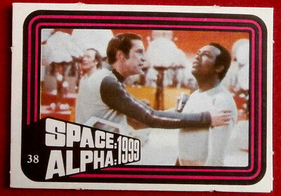 SPACE / ALPHA 1999 - MONTY GUM - Card #38 - Netherlands 1978