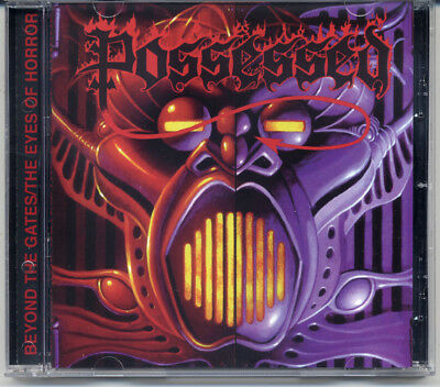"Possessed ""Beyond The Gates / The Eyes Of Horror"" 1987, CD"