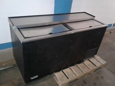 True TD-65-24 Under Bar Forced Air 528-Capacity Bottle Cooler. Our #1A.