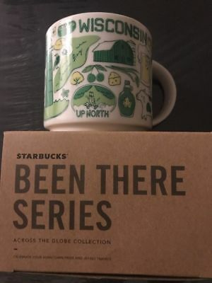 Starbucks Been There Series Mug Wisconsin Just Released Nib !