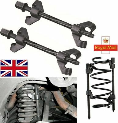 Coil Spring Compressor Pair of  Suspension Clamps 2x380mm Heavy Duty Strut CS009