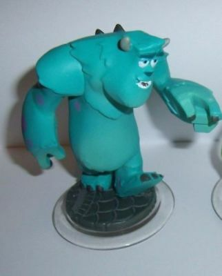 DISNEY INFINITY Sully Figure Character Buy 4 Get 1 Free Game Piece 1.0 2.0 3.0